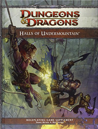 9780786959945: Halls of Undermountain: A 4th Edition Dungeons & Dragons Supplement (Dungeonos Dragons)