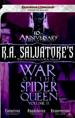 R.A. Salvatore's War of the Spider Queen, Volume II: Extinction, Annihilation, Resurrection (Dungeons & Dragons: Forgotten Realms) (0786960280) by Smedman, Lisa; Athans, Phillip; Kemp, Paul S.