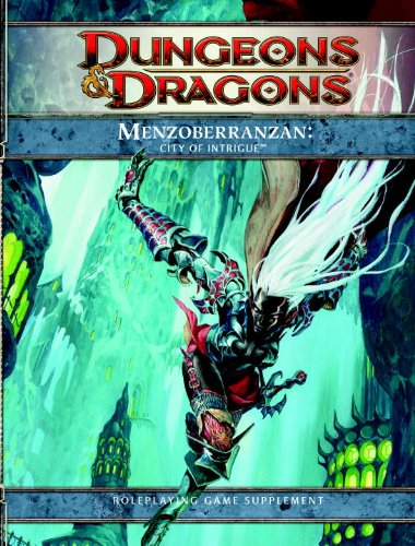 9780786960361: Menzoberranzan: City of Intrigue (Dungeons & Dragons Supplement)