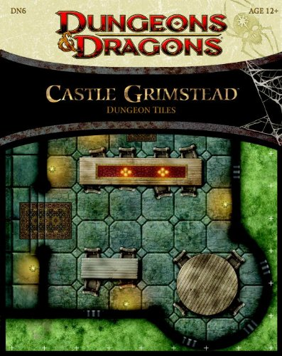 9780786960392: Castle Grimstead - Dungeon Tiles: A Dungeons & Dragons Accessory (Dungeons & Dragons Accessories)