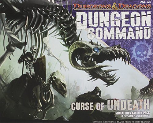 9780786960439: Dungeon dragons - C-1827A - Command Curse Of Undeath - pack jeux avec figurines