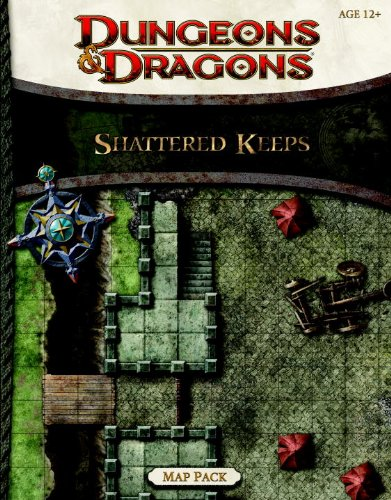 9780786960453: Shattered Keeps Map Pack: A Dungeons & Dragons Accessory