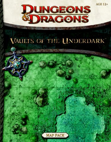 9780786960460: Vaults of the Underdark - Map Pack (Dungeons & Dragons)