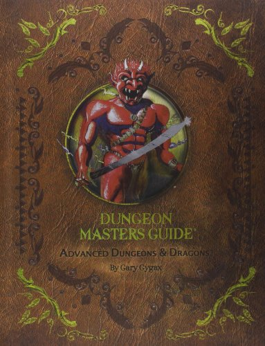 Advanced Dungeons & Dragons: Dungeon Masters Guide: Gary Gygax