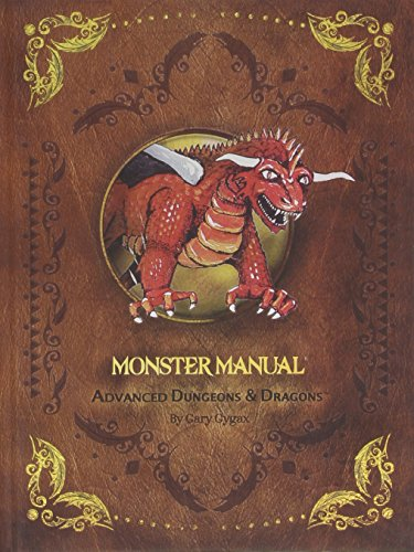 9780786962426: D&D 1st Edition Premium Monster Manual (Dungeons & Dragons Guide)