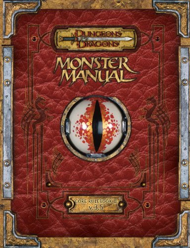 9780786962440: Premium Dungeons & Dragons 3.5 Monster Manual with Errata (Dungeons & Dragons Core Rulebooks)