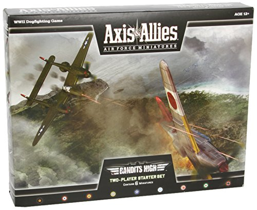 9780786962532: Bandits High: Two Player Starter Set (Axis & Allies Air Force Miniatures)