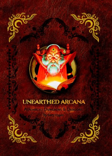 9780786964444: Premium 1st Edition Advanced Dungeons & Dragons Unearthed Arcana (Dungeons & Dragons Accessories)