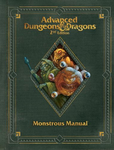 9780786964468: Premium 2nd Edition Advanced Dungeons & Dragons Monstrous Manual (Dungeons & Dragons Guide)
