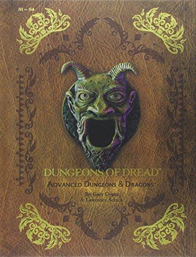 "Dungeons of Dread: ""S"" Series Classic Adventure Compilation: (S1 - S4) (D&D Adventure..."
