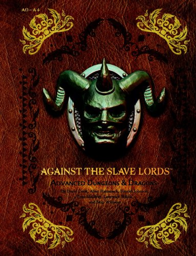 "9780786964628: Against the Slave Lords: ""A"" Series Classic Adventure Compilation: (A0 - A4) (D&D Adventure)"