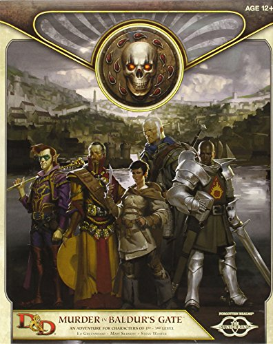 9780786964635: Murder in Baldur's Gate: An Adventure for Characters of 1st-3rd Level