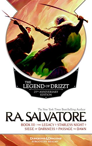 9780786965397: The Legend of Drizzt, Book III: The Legacy/Starless Night/Siege of Darkness/Passage to Dawn (Dungeons & Dragons)
