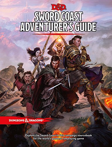 Sword Coast Adventurer's Guide (Hardcover): Wizards RPG Team