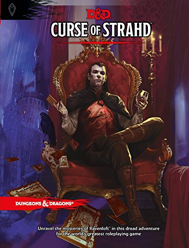 Curse of Strahd: A Dungeons & Dragons Sourcebook (D&D Supplement): Wizards RPG Team