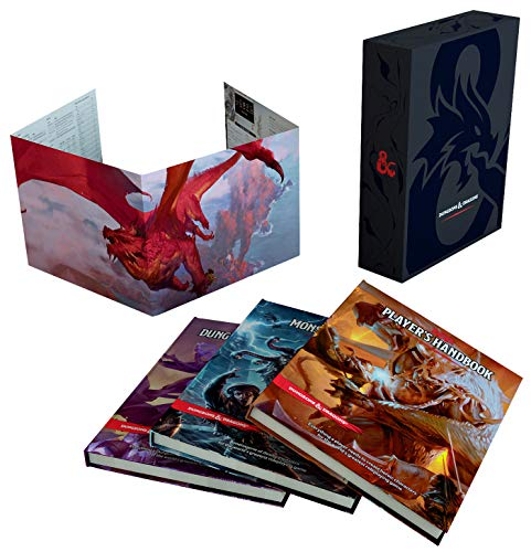 9780786966622: Dungeons & Dragons Core Rulebook Gift Set (version anglaise)