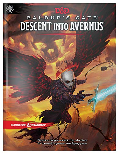 9780786966769: Dungeons & Dragons Baldur's Gate: Descent Into Avernus Hardcover Book (D&D Adventure)