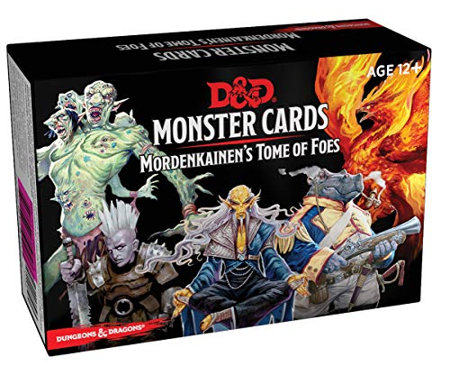 9780786966844: Dungeons & Dragons Spellbook Cards: Mordenkainen's Tome of Foes (Monster Cards, D&d Accessory)