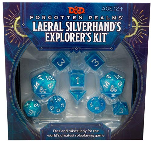 9780786966998: D&d Forgotten Realms Laeral Silverhand's Explorer's Kit (D&d Tabletop Roleplaying Game Accessory)
