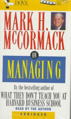 9780787110048: Mark H. McCormack on Managing