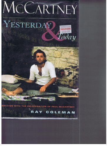 9780787110383: McCartney: Yesterday ... and Today