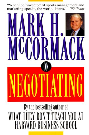 9780787112745: On Negotiating