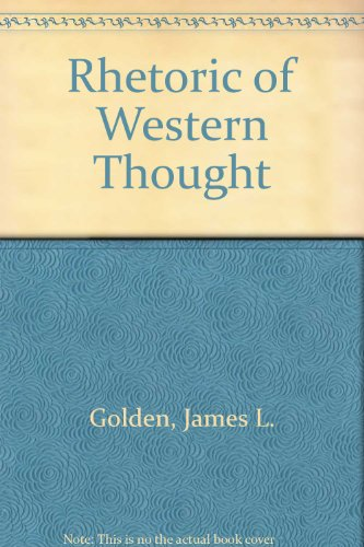 9780787219680: Rhetoric of Western Thought