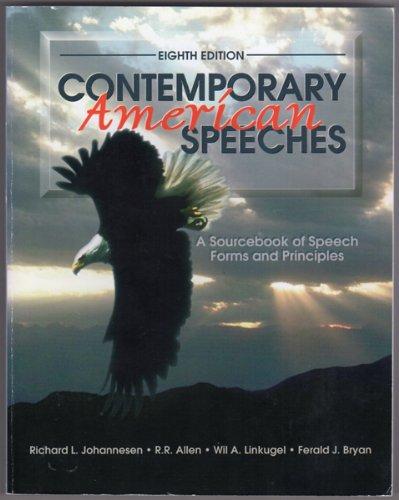 Contemporary American Speeches: A Sourcebook of Speech: Allen, R. R.;
