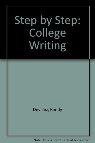 9780787222031: Step by Step: College Writing