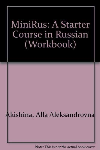 9780787222291: Minirus: A Starter Course in Russian (Workbook)