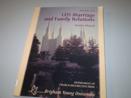 9780787227388: LDS marriage and family relations: Student manual