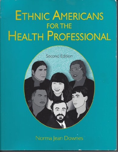 9780787236533: Ethnic Americans for the Health Professional