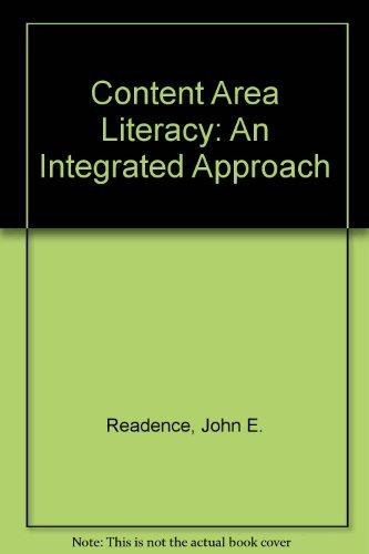 9780787238841: Content Area Literacy: An Integrated Approach