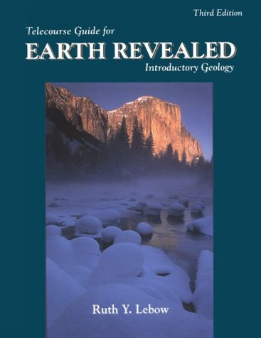 9780787238964: Telecourse Guide for Earth Revealed: Introductory Geology