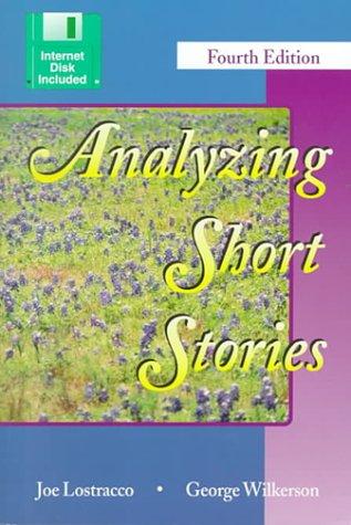 9780787248444: ANALYZING SHORT STORIES
