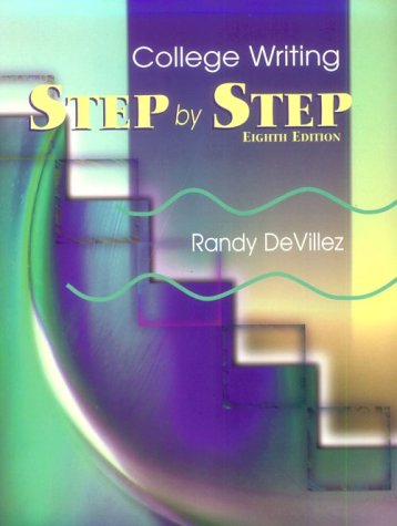 9780787249021: Step by Step: College Writing
