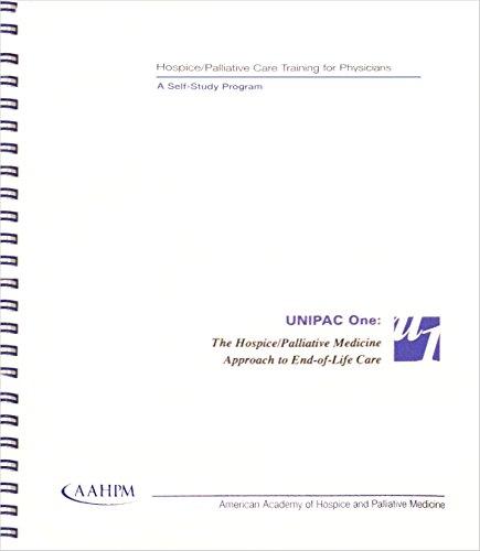 9780787250812: Hospice/palliative care training for physicians: A self study program