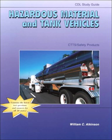 9780787252557: CTTS SAFETY PRODUCTS CDL (COMMERCIAL DRIVER'S LICENSE) STUDY GUIDE: HAZARDOUS MATERIAL