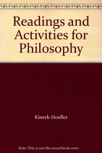 9780787253943: Readings and Activities for Philosophy