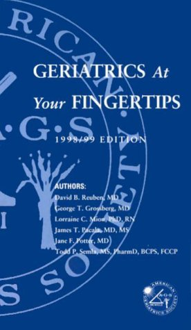9780787254742: Geriatrics at Your Fingertips: 1998-99 Edition