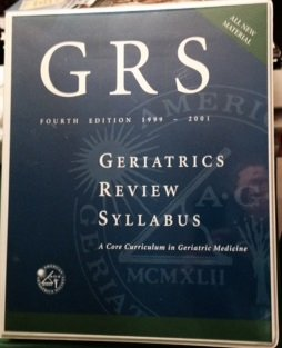 Geriatrics Review Syllabus: A Core Curriculm in Geriatric Medicine: Cobbs