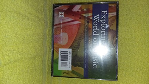 9780787255725: Exploring the World of Music (Set of 3 CD-ROMs)