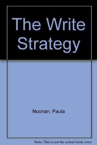 The Write Strategy: Noonan, Paula