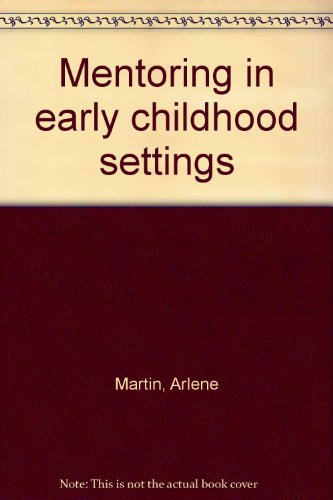 9780787260149: Mentoring in early childhood settings