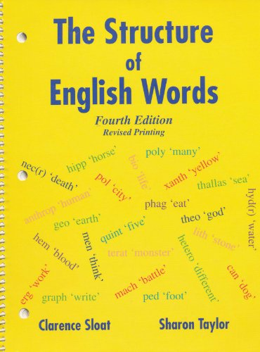 9780787261474: The Structure of English Words