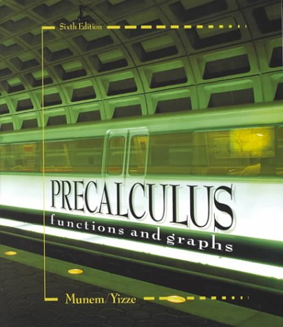 9780787268688: Precalculus: Functions and Graphs