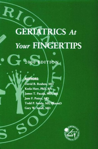 9780787269197: Geriatrics at Your Fingertips 2000
