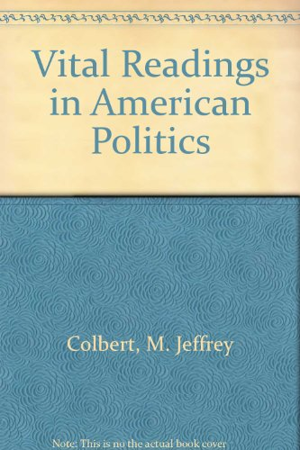 9780787272845: Vital Readings in American Politics