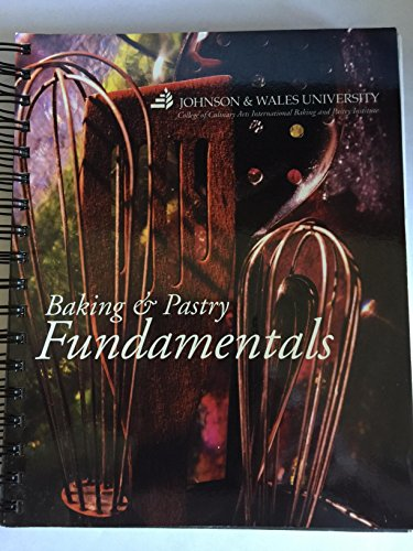 Baking & Pastry Fundamentals: Various