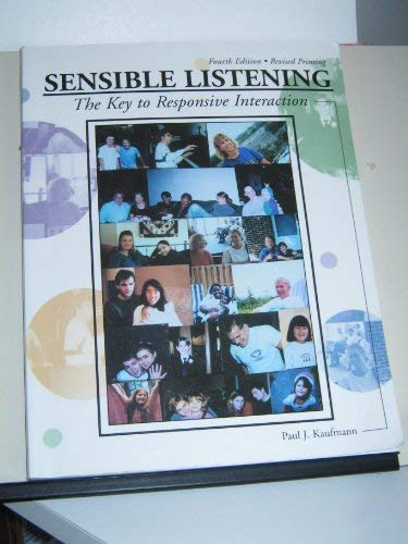 9780787274269: Sensible Listening: The Key to Responsive Interaction